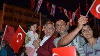 19 Mayıs Akşamında Çatalca'da Gençlerin Coşkusu Vardı