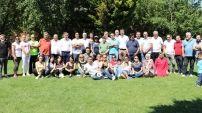 Piknikte bir araya gelen gazeteciler 24 Temmuz Basın Bayramı'nı andı