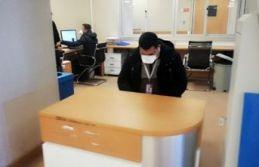 Büyükçekmece'de 'Domuz gribi' şüphesiyle Mimar Sinan Devlet Hastanesi acildeki kırmızı alanı...