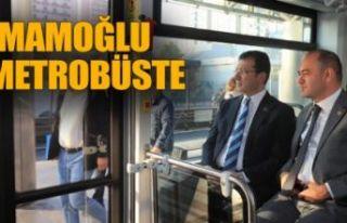 İmamoğlu'ndan yeni metrobüs atağı