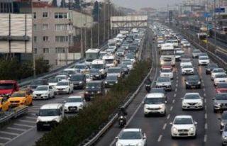 Okullar açıldı, İstanbul'da trafik yoğunluğu...