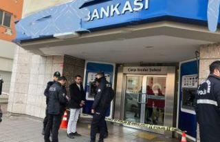 Avcılar'da  banka soygunu!