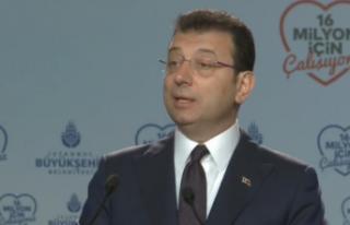 Ekrem İmamoğlu'ndan Kanal İstanbul açıklaması:...
