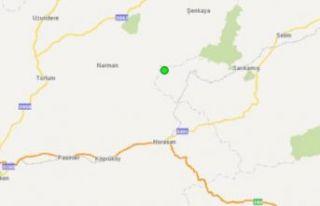 Kars'ta 4.2 büyüklüğünde deprem meydana...