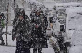 Meteoroloji uyardı: Yoğun kar yağışı geliyor