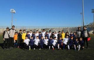 Büyükçekmece, Kazakistan'ın Real Sport takımıyla...