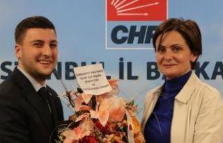 CHP Silivri İlçe Başkanı Berker Esen ve yönetimi...