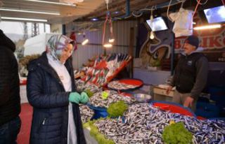 Fırtına balık piyasasını vurdu