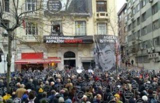 Gazeteci Hrant Dink öldürülüşünün 13. yılında...