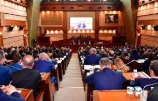 İBB Meclisi'nde gerginlik: AKP'li belediyeler...