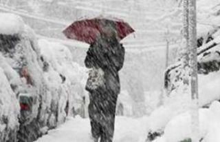 Meteoroloji'den fırtına ve kar uyarısı!
