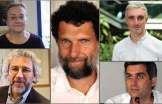 Gezi Davası'nda tüm sanıklar beraat etti!...