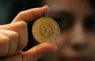 Gram altın 306 liraya, çeyrek altın ise 506 liraya...