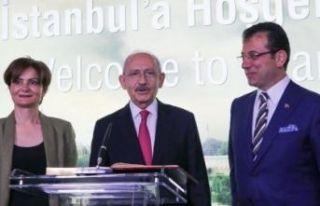 Kılıçdaroğlu ve İmamoğlu CHP İstanbul İl Kongresi'ne...