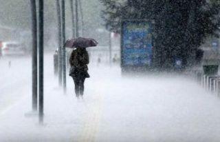 Meteoroloji'den kuvvetli yağmur ve kar yağışı...