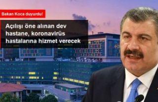 Açılışı öne alınan Okmeydanı Hastanesi, koronavirüs...