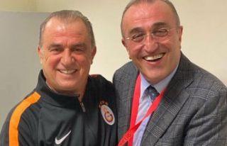 Galatasaray'dan Fatih Terim ve Abdurrahim Albayrak...