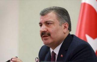 Sağlık Bakanı Fahrettin Koca: Toplam hasta sayımız...