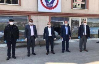 Yardımsever İşadamı Üstündağ, 210 aileye nakdi...