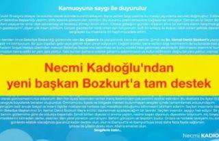 Esenyurt eski belediye başkanı Kadıoğlu'ndan...