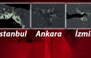 İstanbul, Ankara ve İzmir'de, corona virüs...