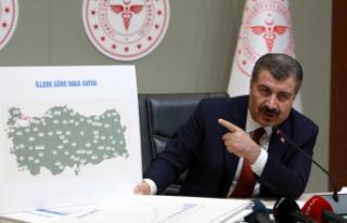 """Sağlık Bakanı Koca 18 şehre """"Bu filmin kahramanları""""..."""