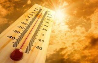 Afrika sıcakları kapıda: Pazar günü rekor sıcaklık...
