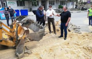 Başkan Mesut Üner, yapım ve onarım çalışmalarını...