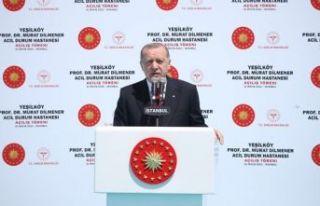 Cumhurbaşkanı Erdoğan: Sağlık turizminde çok...