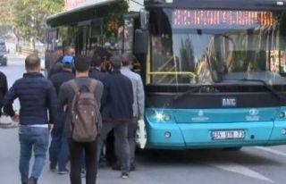 Yasağın ardından İstanbul'da toplu ulaşım