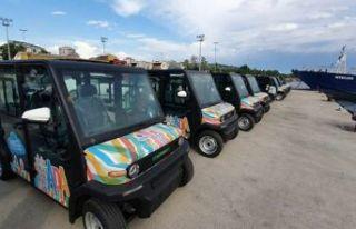 İBB'nin Adalar'da elektrikli araç projesine...