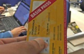 Saray, basın kartı iptaline cevap vermedi
