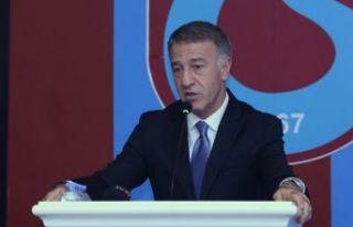 Trabzonspor Başkanı Ahmet Ağaoğlu'ndan men kararı...