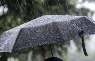 Yağmur geliyor: Meteoroloji'den 2 il için sel...