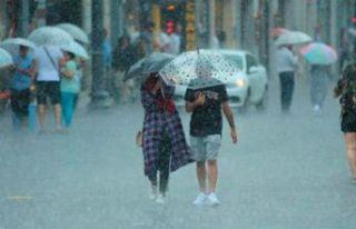 Bazı iller için sağanak yağış uyarısı yapıldı