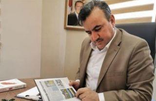 Belediye Başkanı Halit Oflaz corona virüs nedeniyle...