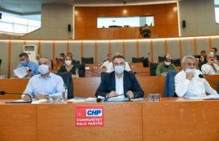 Esenyurt'ta pandemi nedeniyle belediye tesislerinin...
