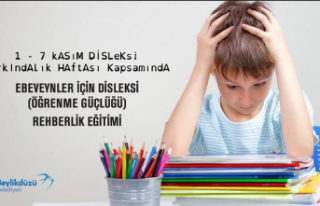 BEYLİKDÜZÜ BELEDİYESİ'NDEN ONLİNE DİSLEKSİ...