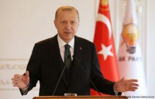 Erdoğan: Kanal İstanbul Projesi'nde ihale aşamasına...