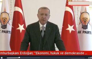 Erdoğan: Yepyeni bir seberberlik başlatıyoruz..