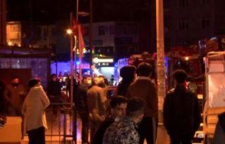 Esenyurt'ta 30 katlı binada yangın paniği!...