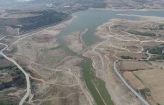 İBB: İstanbul'un 80 günlük suyunun kaldığı...