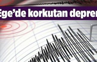 Ege'de korkutan deprem! İzmir ve çevre illerden...