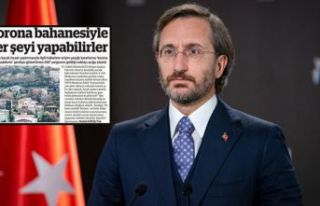 Fahrettin Altun şikayet etti, BirGün'e üç...