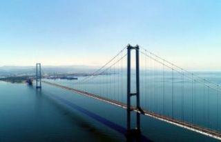 Osmangazi Köprüsü'nden ihlalli geçene 4 kat...