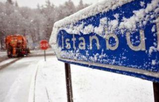 İstanbul'a beklenen kar geliyor... Valilik cuma...