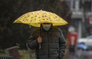 Meteoroloji'den illere 'kar ve yağmur'...