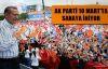 AK Parti, 10 Mart'ta sahaya iniyor