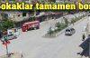 Şemdinli'de kepenkler kapalı