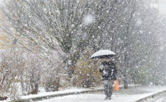 Meteoroloji'den kuvvetli sağanak ve kar yağışı uyarısı